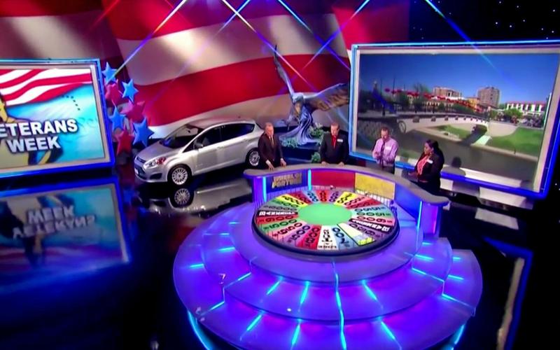 Wheel Of Fortune Wheel Across America