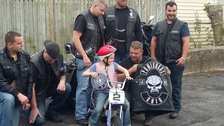 Girl Sick Of Mean Kids Refuses To Go To School, But Watch When Bikers Show Up