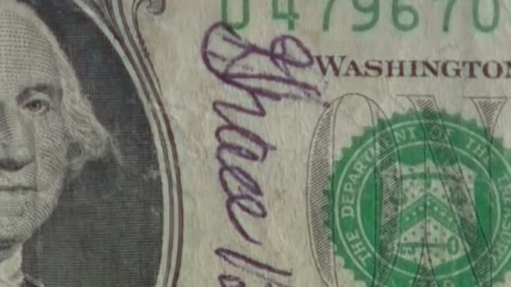 Cashier Hands Him Change. When He Sees This $1 Bill Chills Shoot Down His Spine
