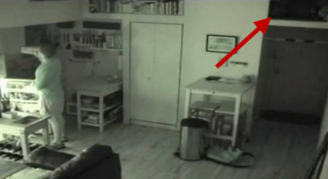 Guy Stumped When Food Goes Missing, But He Never Expected To Find This On Camera