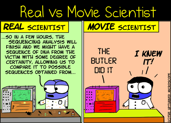 real vs movie scientists 2