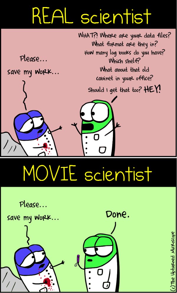 real vs movie scientists 4