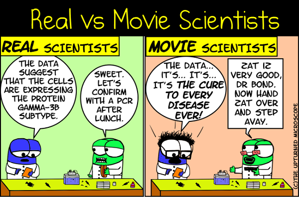 real vs movie scientists 5