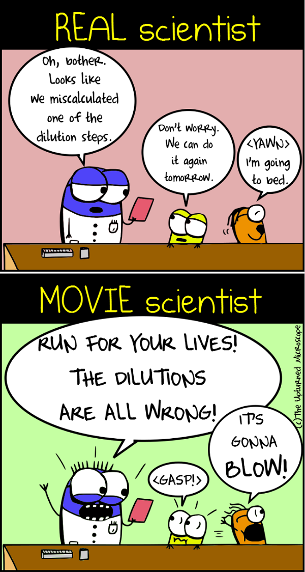 real vs movie scientists 6