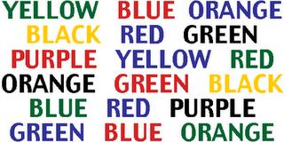 say the colour optical illusion